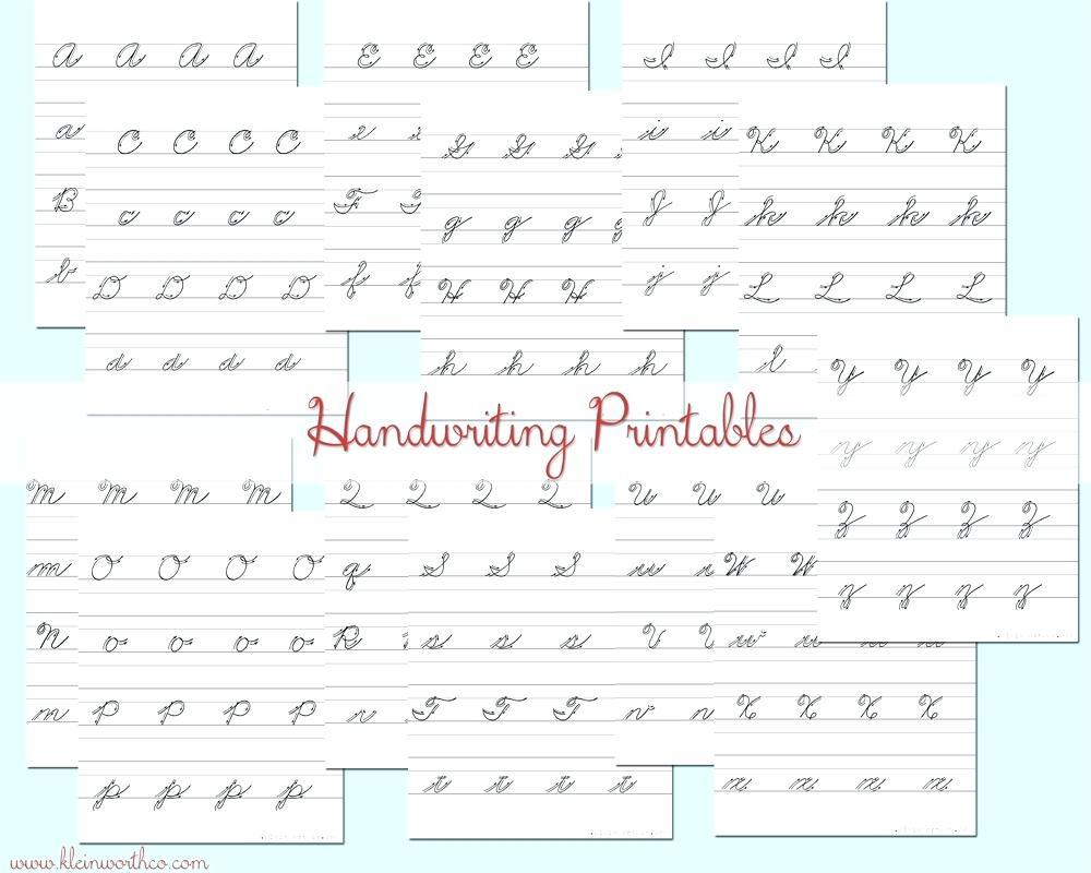 Cursive Writing Practice Worksheet – Pointeuniform.club - Free Printable Cursive Writing Paragraphs