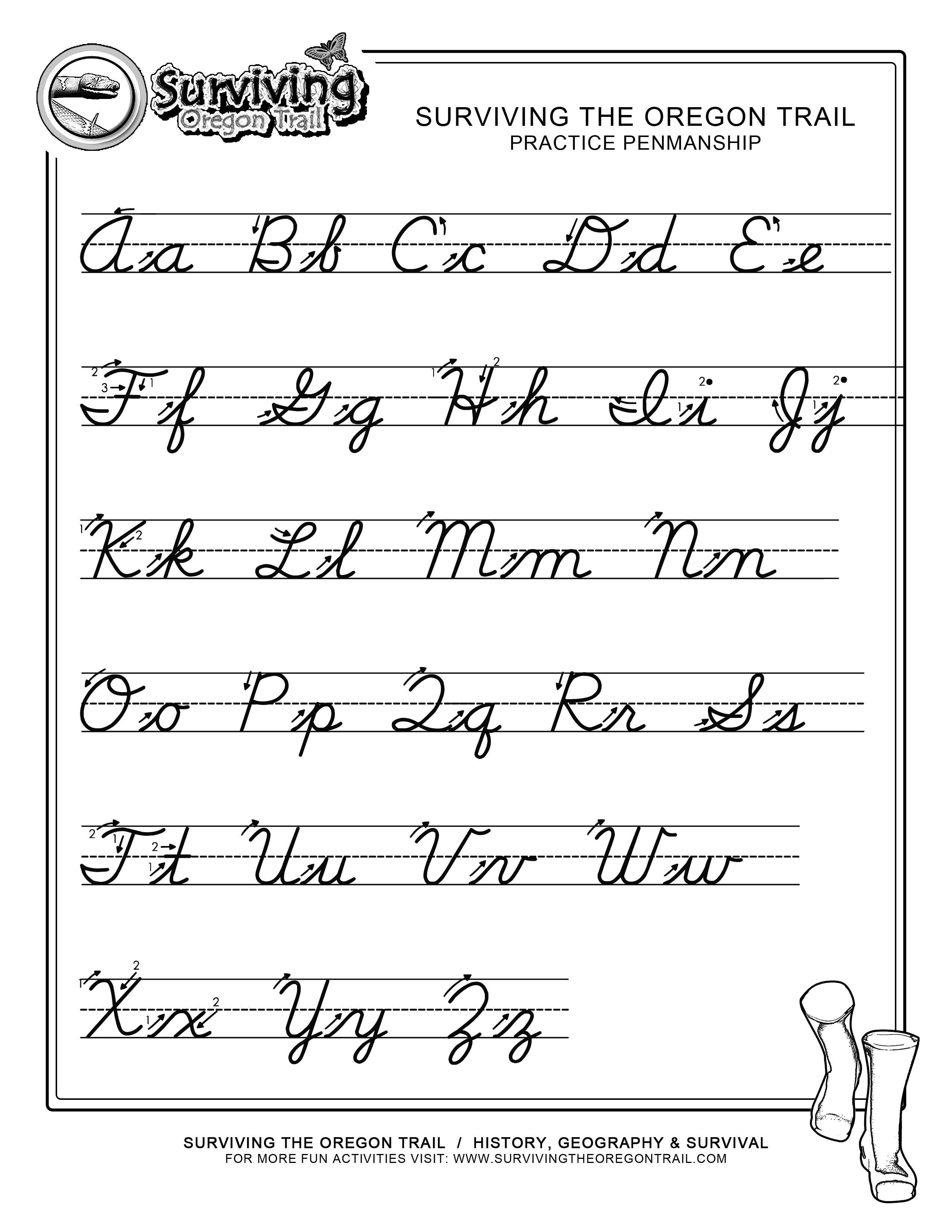 Cursive Writing Practice Worksheets. Writing. Alistairtheoptimist - Free Printable Cursive Practice