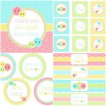 Cute As A Button Free Printables | Paisleys 1St Bday | Pinterest   Free Printable Button Templates