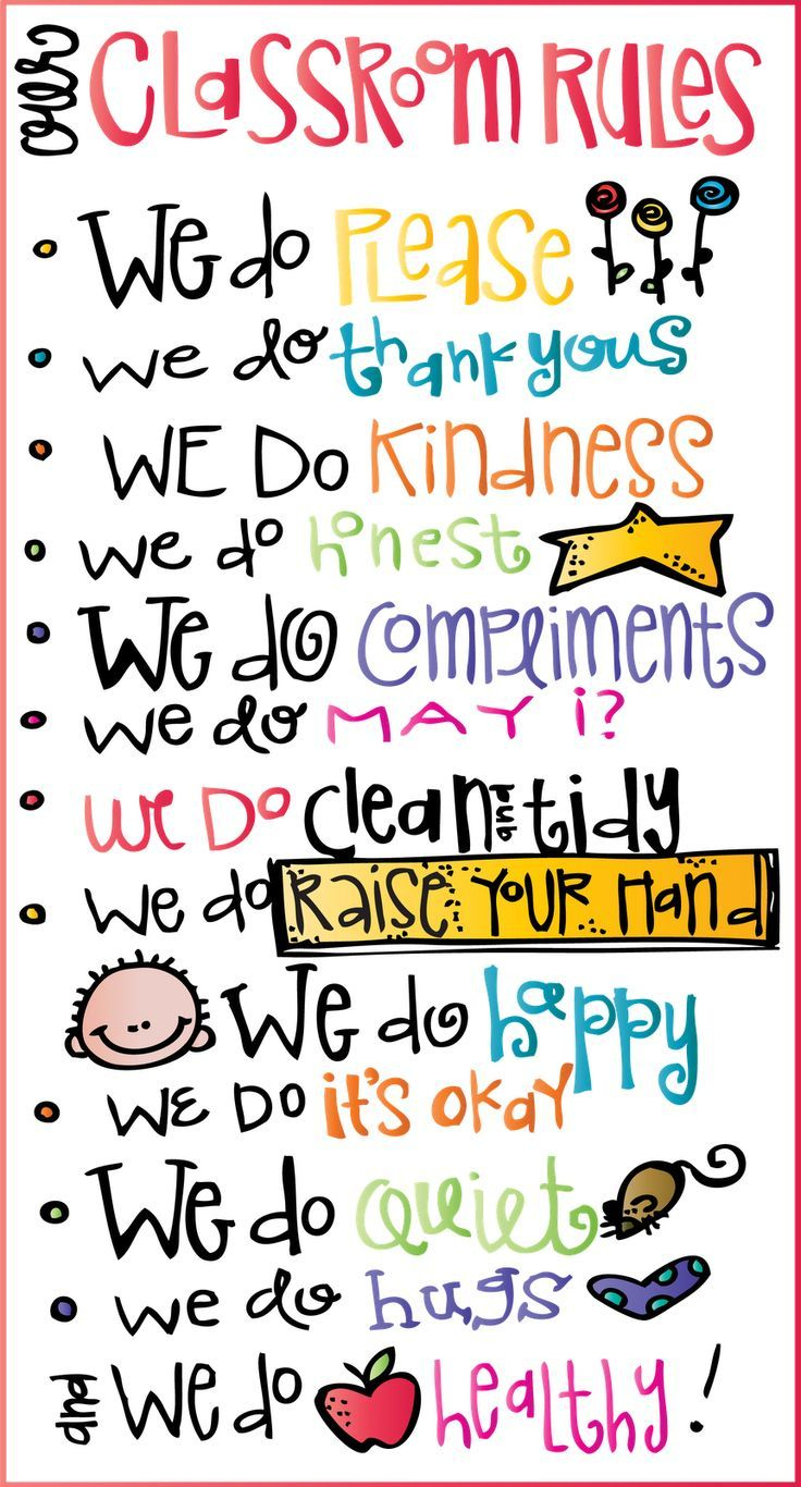 Cute Classroom Rules Printable! Free From Mealonheadz | Best Of Back - Free Printable Educational Posters