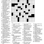 Daily Crossword Puzzle Printable – Jowo   Free Daily Printable Crossword Puzzles