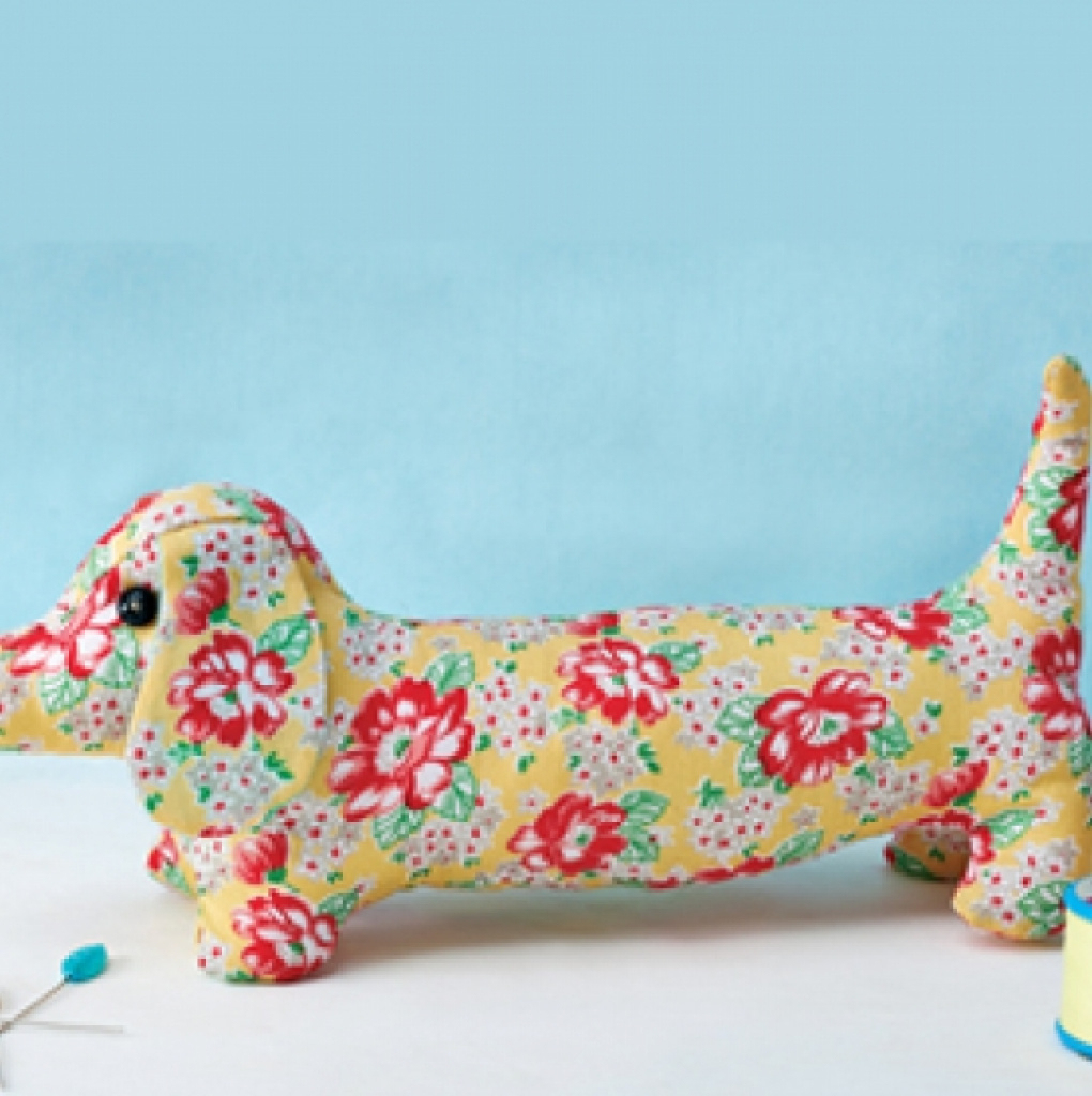 Dave Dachshund - Free Sewing Patterns - Sew Magazine In Free - Free Printable Dachshund Sewing Pattern