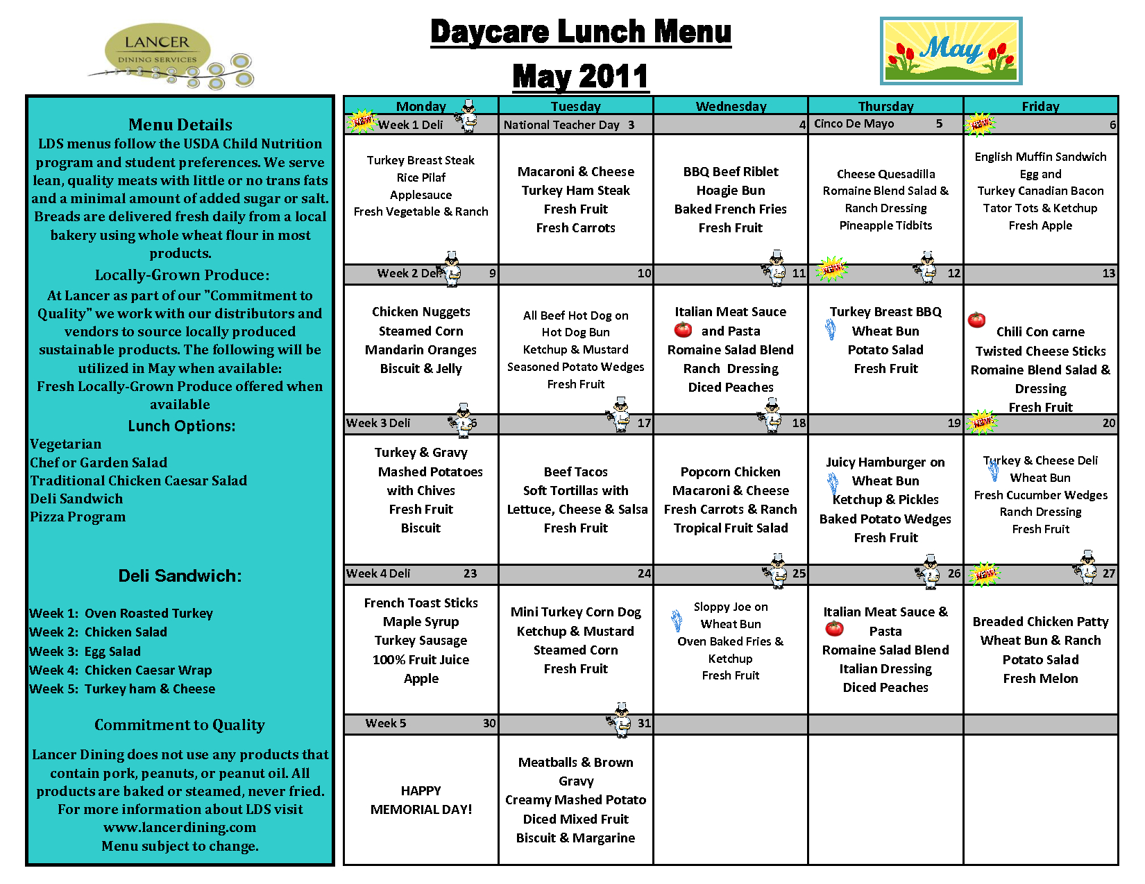 Day+Care+Lunch+Menu+Template | Awesome Lists | Pinterest | Weekly - Free Printable Daycare Menus
