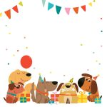 Delighted Dogs   Free Printable Birthday Invitation Template   Dog Birthday Invitations Free Printable