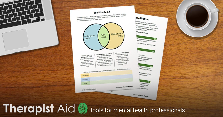 Depression Worksheets   Therapist Aid - Free Printable Worksheets On Depression