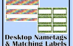 Free Printable Desk Name Plates For Students