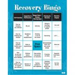 Developing Support|Recognizing Danger Zones|Recovery Skills|Bingo Game   Free Printable Recovery Games