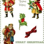 Digital Collage Sheets Archives   The Graphics Fairy   Free Printable Christmas Photo Collage