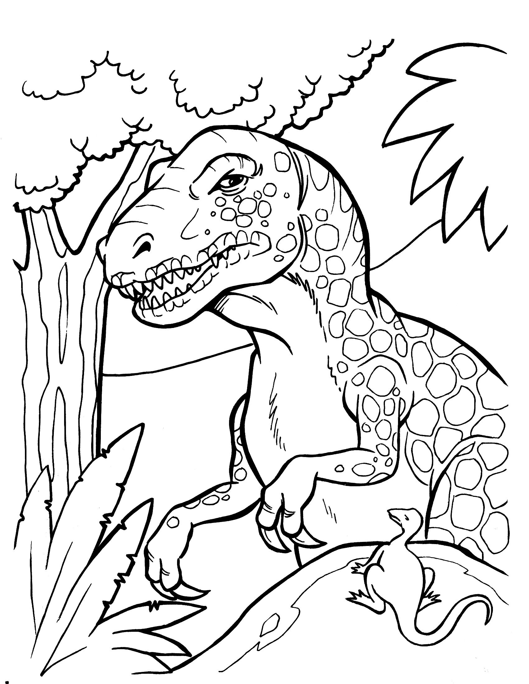 Dinosaur Coloring Pages 360Coloringpages | Adult Coloring - Free Printable Dinosaur Coloring Pages