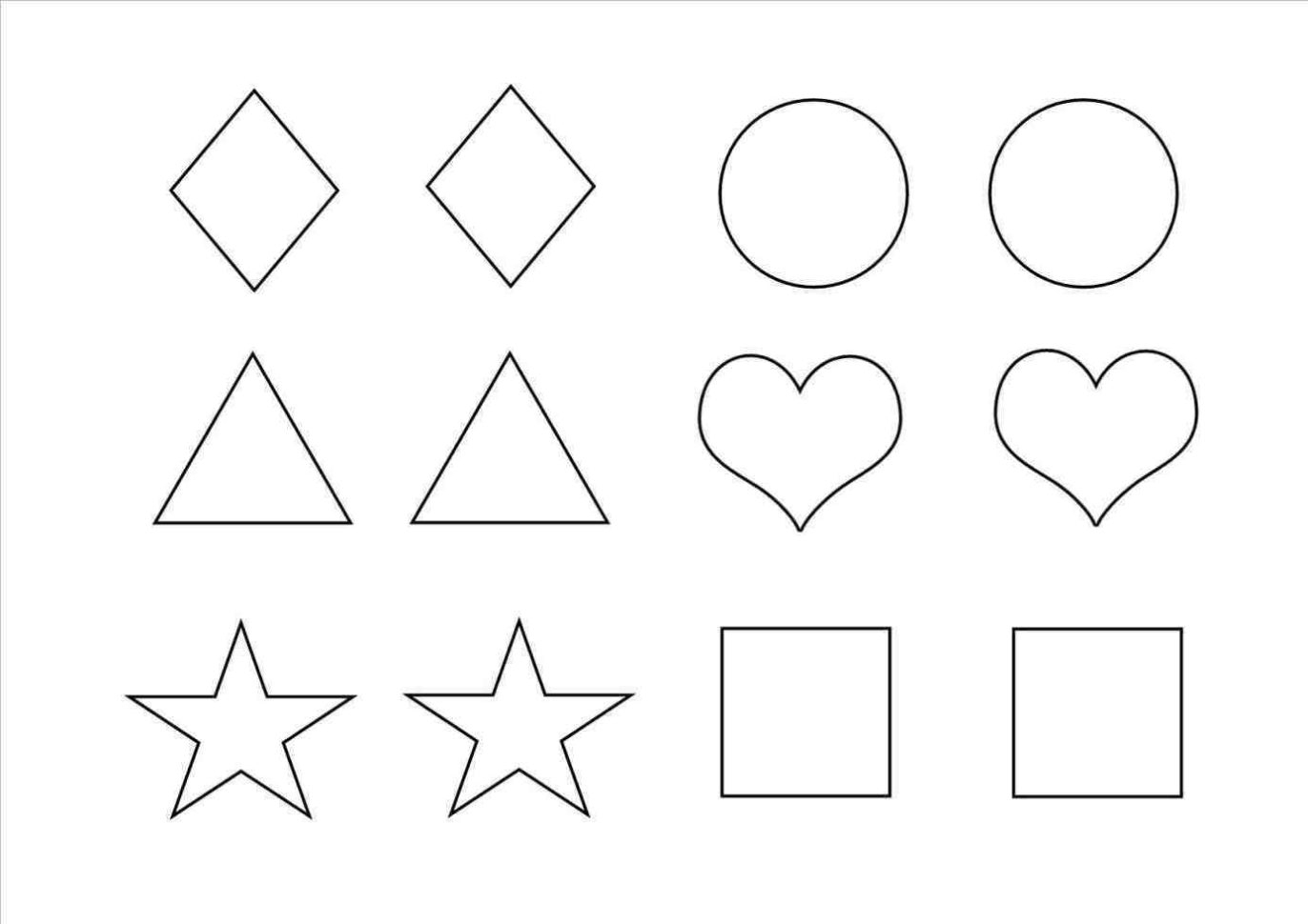 Direct Shapes Templates To Cut Out Free Printable Crammed Of Winter - Free Shape Templates Printable
