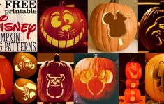 Disney Pumpkin Stencils: Over 130 Printable Pumpkin Patterns – Free Pumpkin Printable Carving Patterns