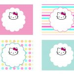 Diy Free Hello Kitty Label | Free Birthday Party Decorations   Hello Kitty Labels Printable Free