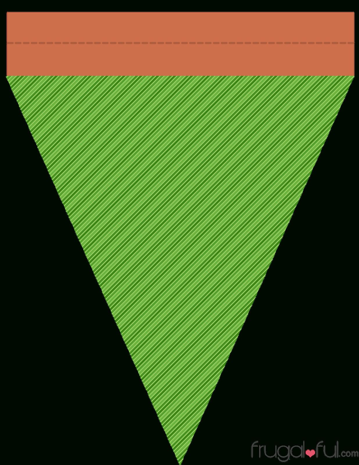 Diy} Free Printable Halloween Triangle Banner Template (Part 2 - Free Printable Halloween Banner Templates