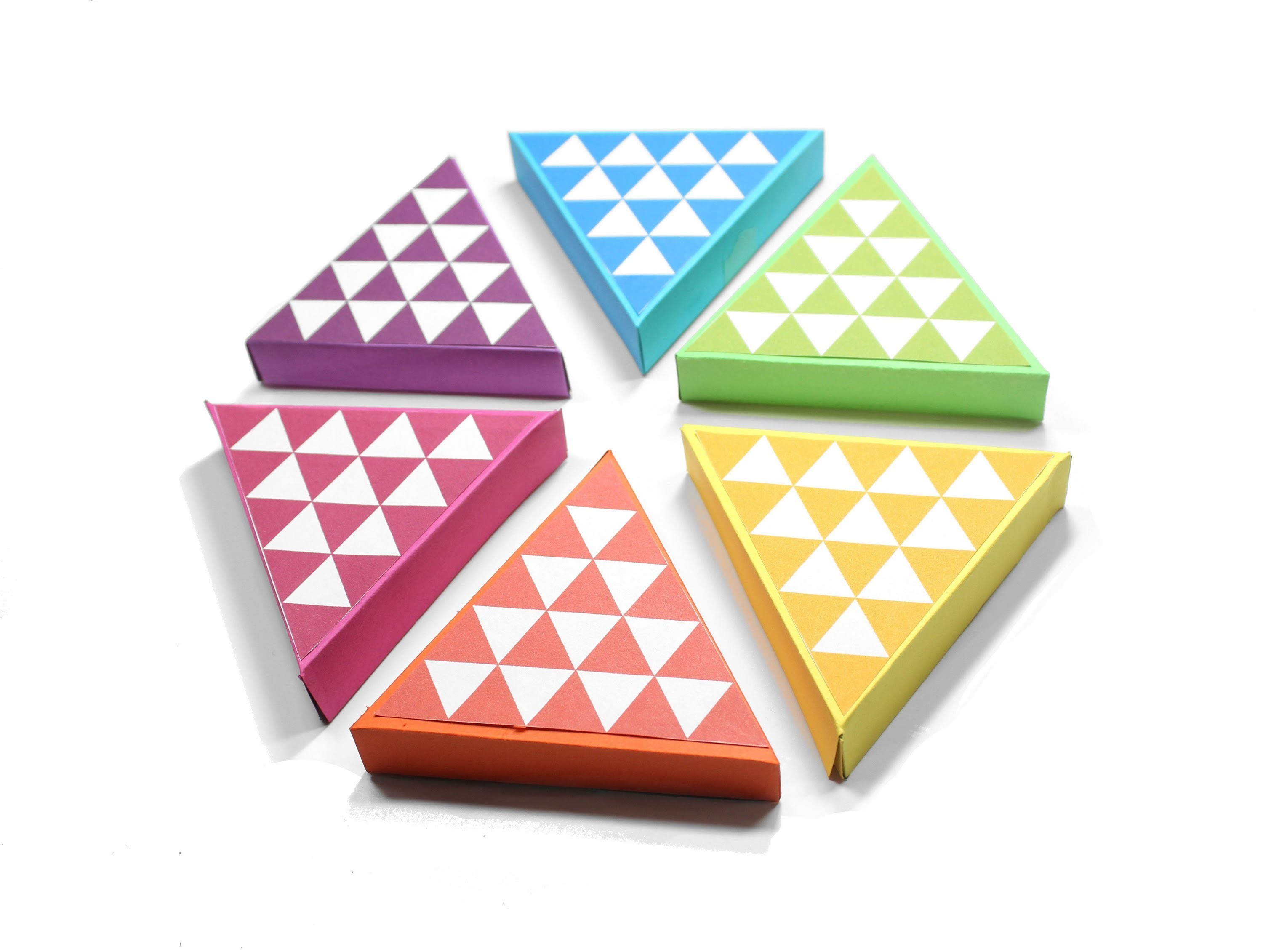 Diy Geometric Gift Boxes (Easy With Free Printable Template) - Free Printable Gift Boxes