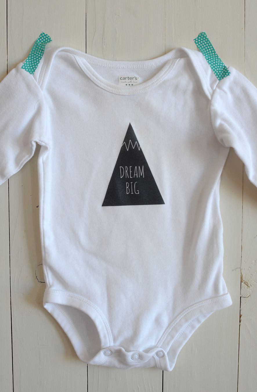 Diy Iron-On Graphic Onesie   Crafty Diy   Pinterest   Free Baby - Free Printable Onesies
