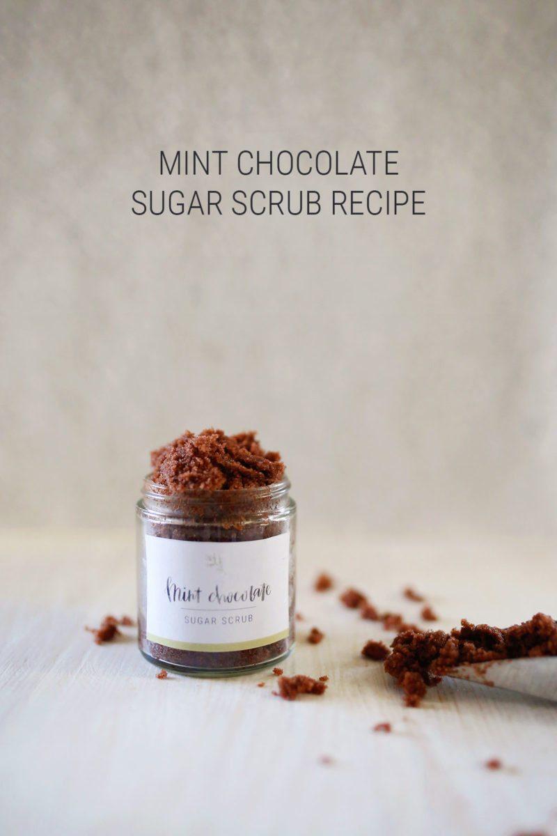Diy Mint Chocolate Sugar Scrub Recipe + Free Printable Labels - Free Printable Dessert Recipes