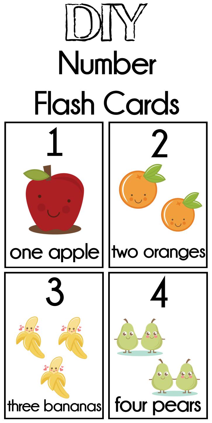 Diy Number Flash Cards Free Printable - Extreme Couponing Mom - Free Printable Number Flashcards 1 30