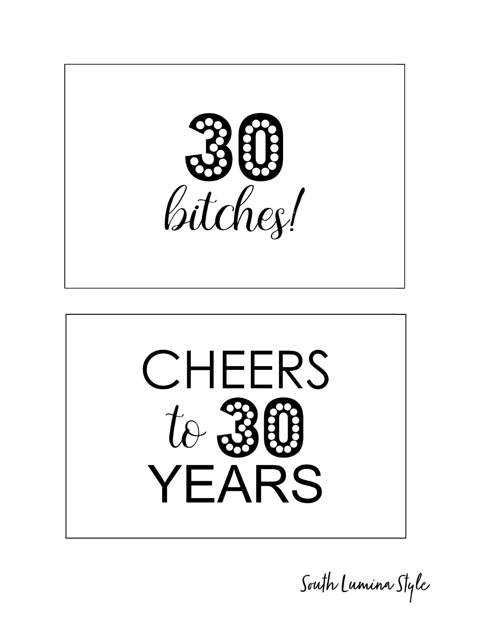 Diy Printable Adult Birthday Party Signs | Party Time | Party, Adult - Free Printable Party Signs