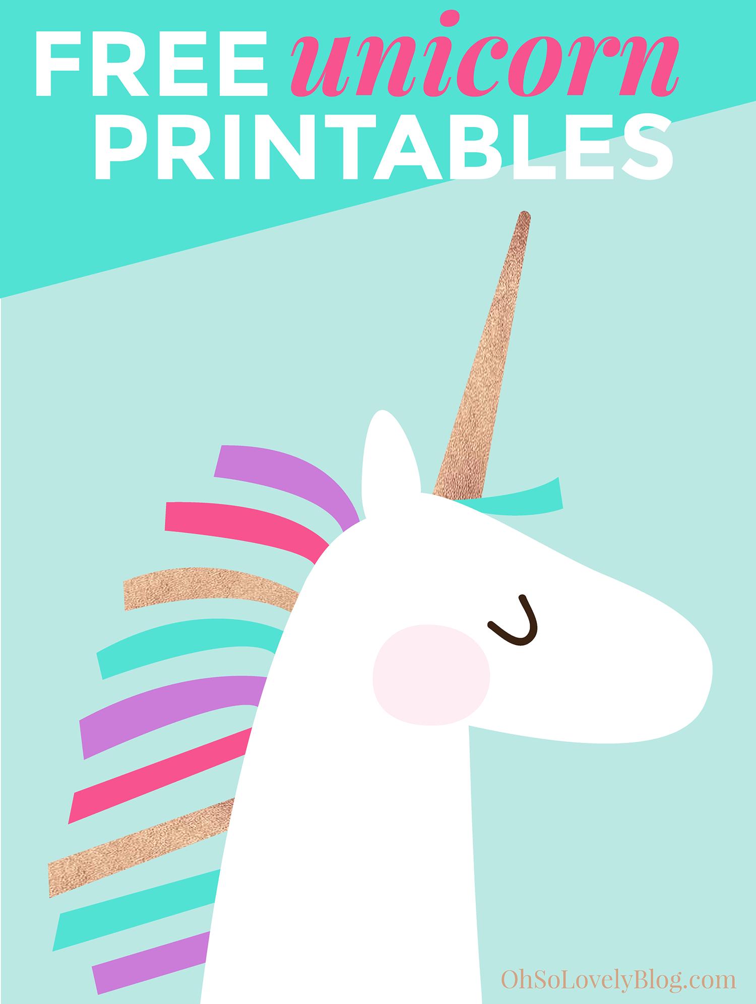 Diy Toddler Bedroom Progress | Printables | Pinterest | Unicorn - Unicorn Name Free Printable