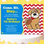 Dog Birthday Invitations Free Printable – Birthday Invitation   Dog Birthday Invitations Free Printable
