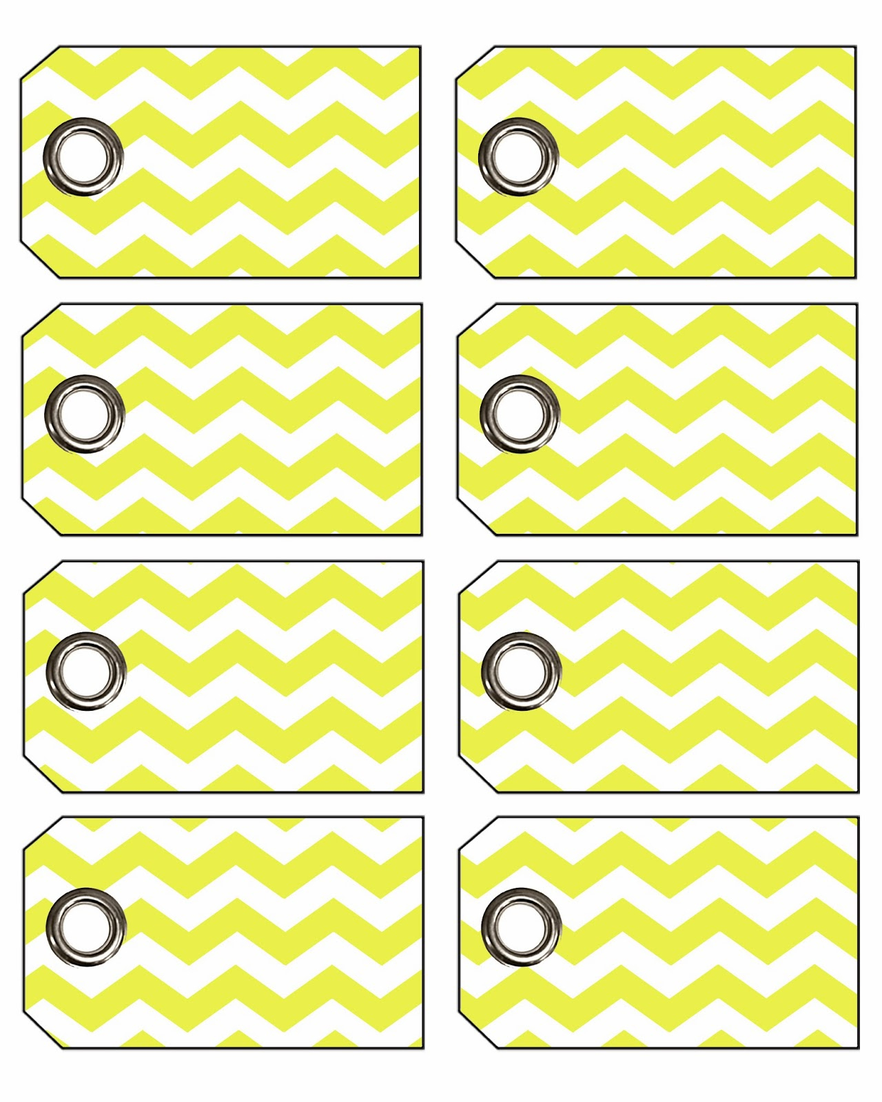 Doodlecraft: Freebie Week: Chevron Gift Tags With Eyelets! - Free Printable Chevron Labels