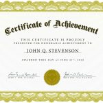 Download Blank Certificate Template X3Hr9Dto | St. Gabriel's Youth   Free Printable Award Certificates