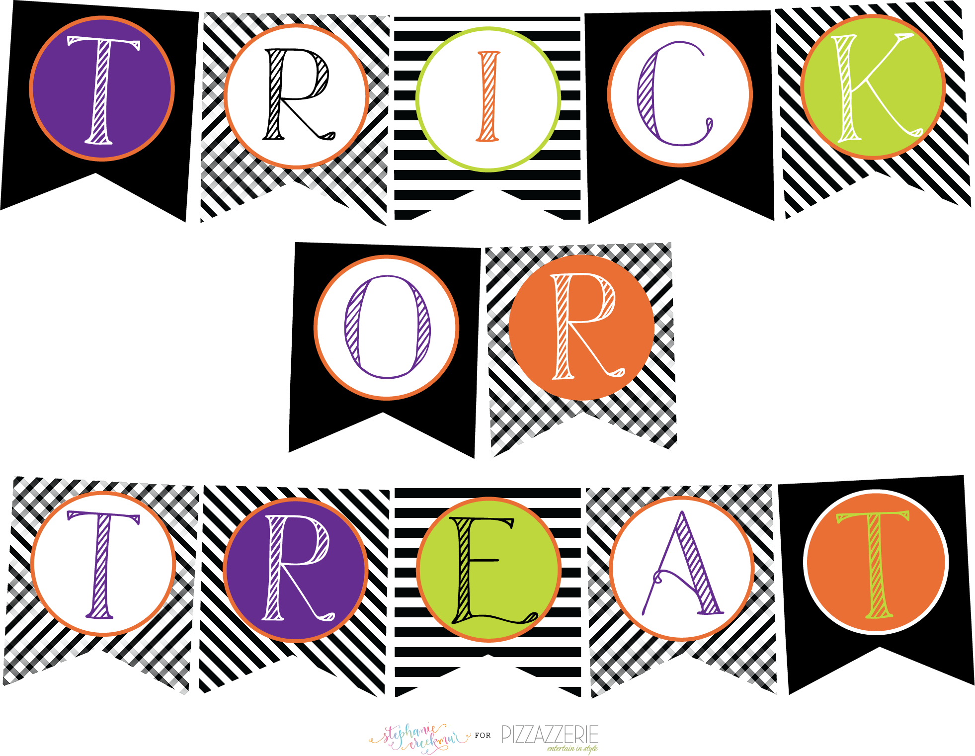 Download} Free Halloween Printables Collection!   Pizzazzerie - Free Printable Halloween Banner