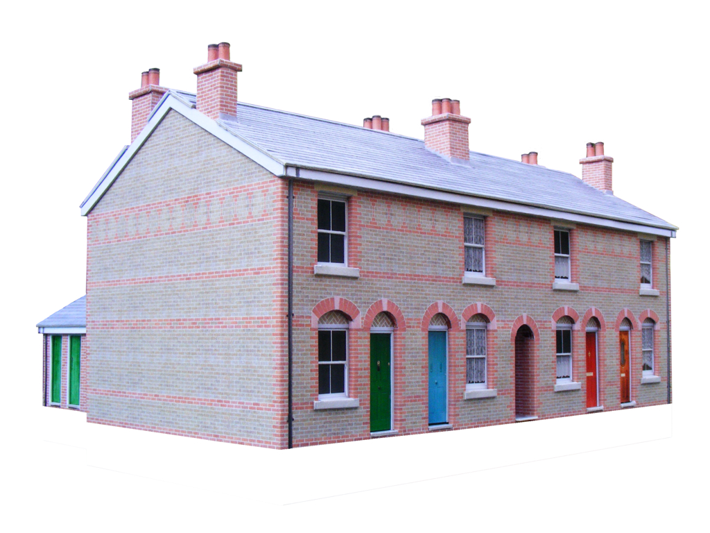 Download Free Pdf Card Model Building Kits. Scenerybuilder. - Free Printable Model Railway Buildings