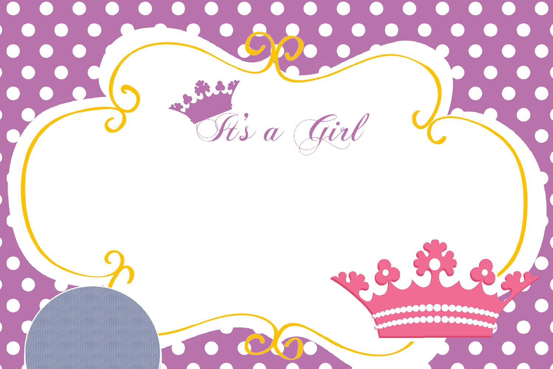 Download Free Printable Disney Princess Birthday Invitations - Free Printable Princess Baby Shower Invitations