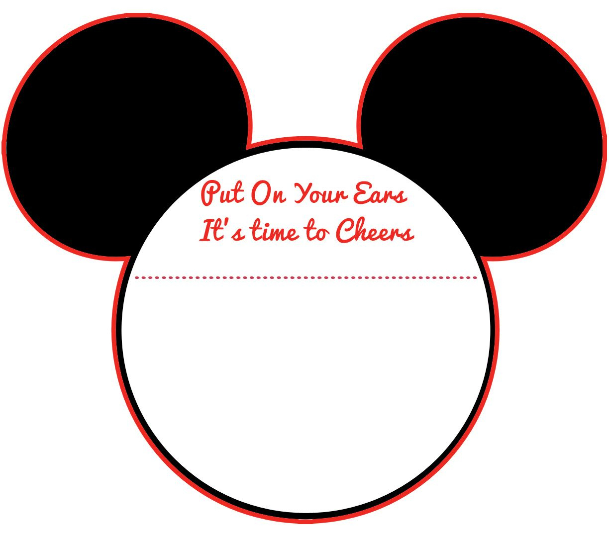 Download New! Free Printable Mickey Mouse Baby Shower Invitation - Free Printable Mickey Mouse Template