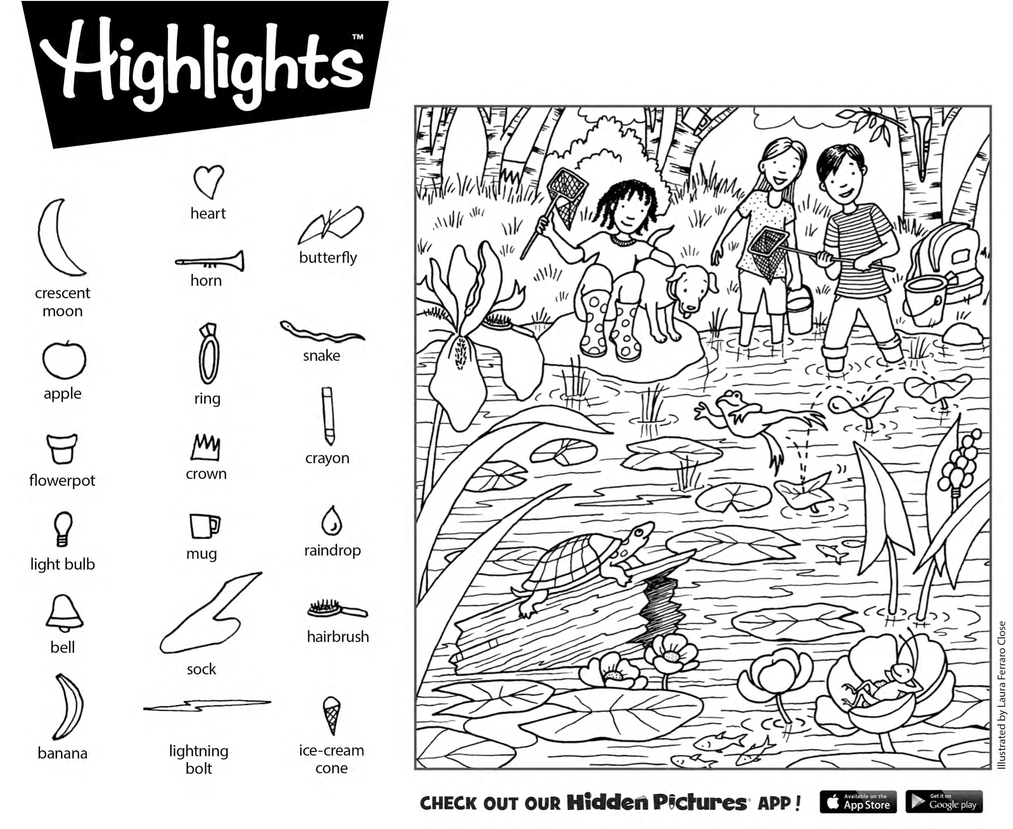 Download This Free Printable Hidden Pictures Puzzle From Highlights - Free Printable Hidden Picture Puzzles For Adults