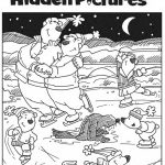 Download This Free Printable Winter Hidden Pictures Puzzle To Share   Free Printable I Spy Puzzles