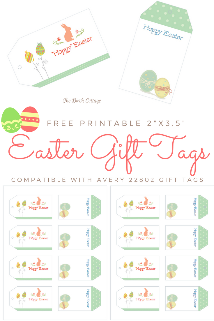 Download Your Free Printable Easter Gift Tags - Free Printable Easter Tags