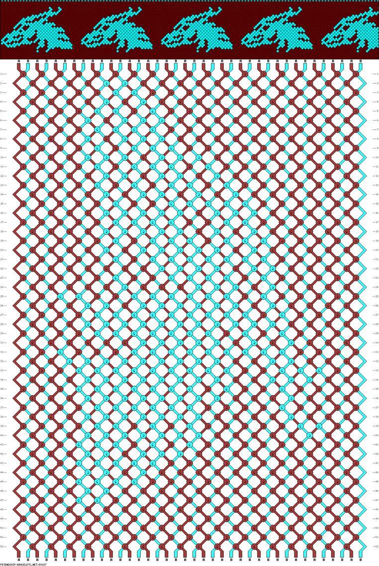 Dragon Friendship Bracelet Pattern. … | Apyrankes | Pinte… - Free Printable Friendship Bracelet Patterns