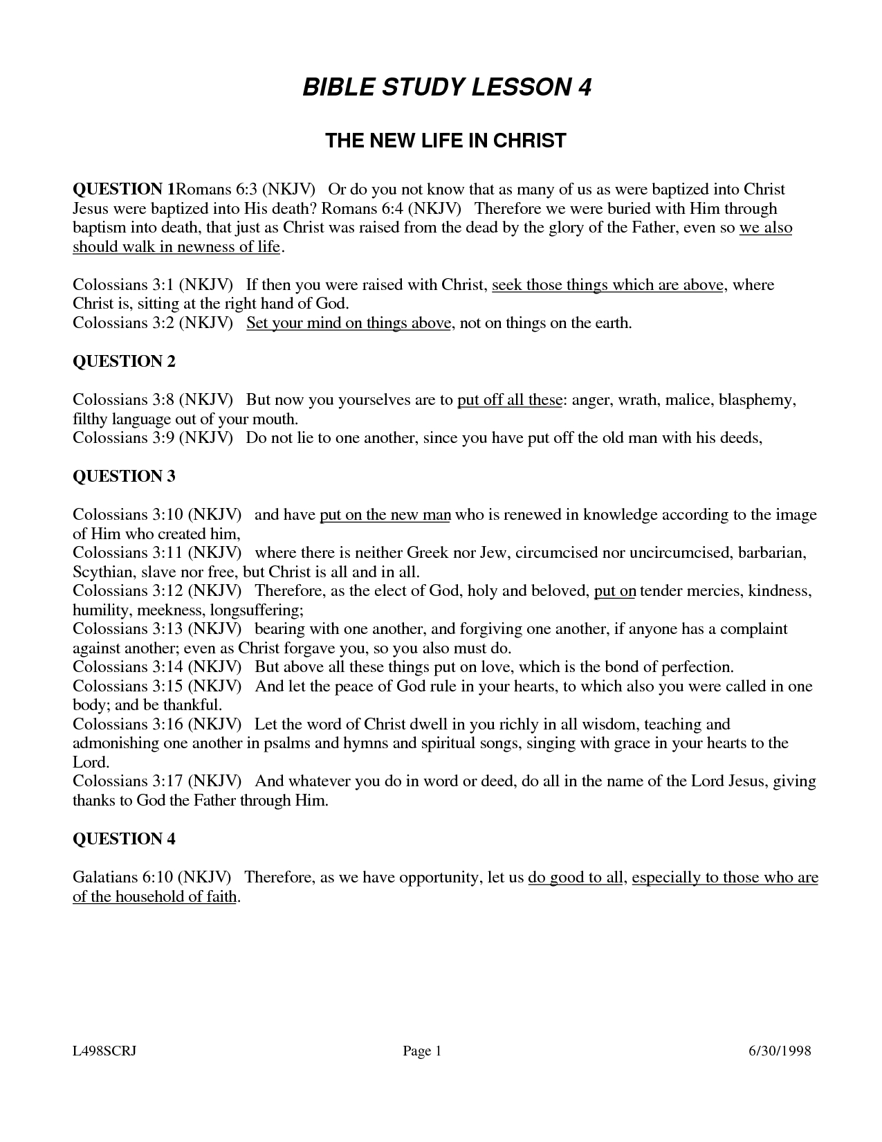 √ 6 Best Images Of Printable Youth Bible Worksheets - Free Printable Bible Studies For Men