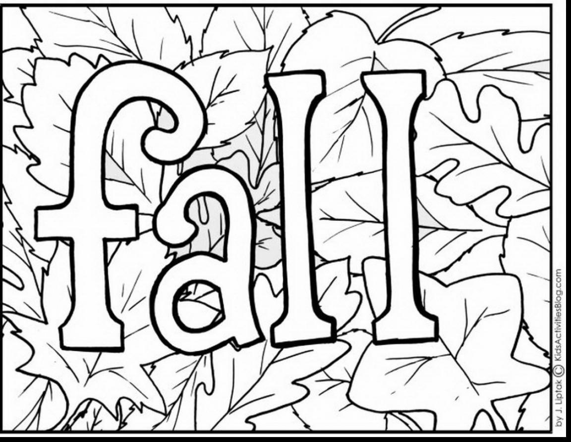 √ Fall Coloring Pages Free Printable - Free Fall Printable Coloring Sheets
