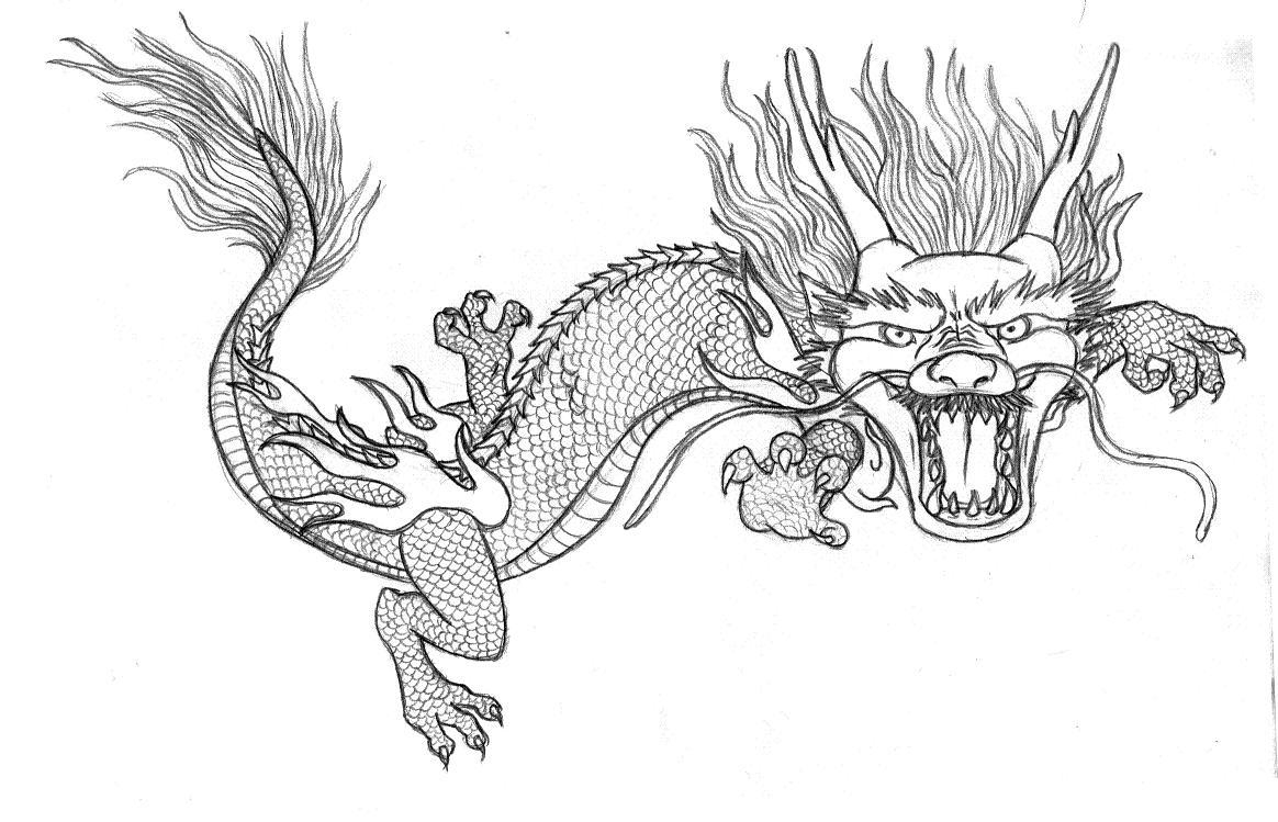 √ Free Coloring Pages Of Chinese Dragons - Free Printable Chinese Dragon Coloring Pages