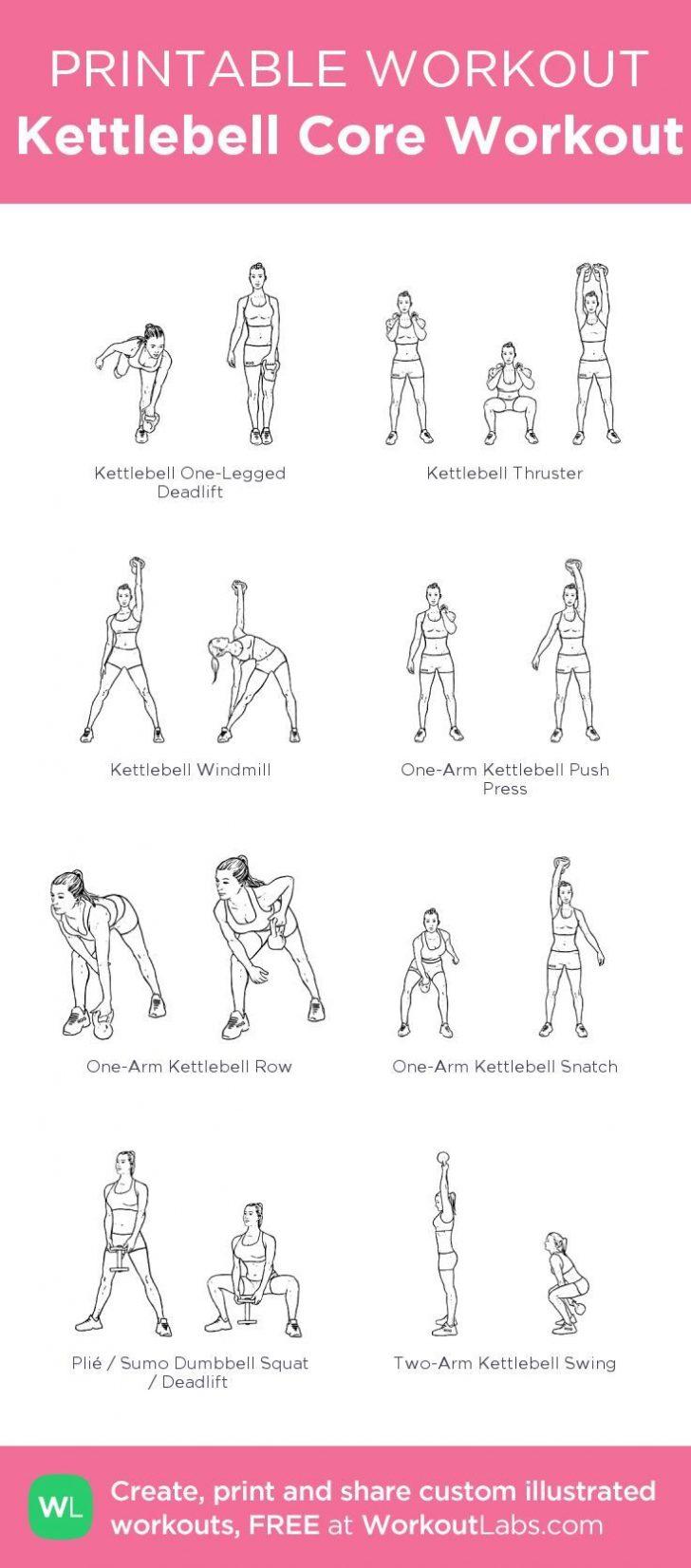 Free Printable Workout Routines