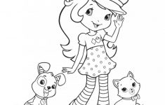 √ Free Printable Strawberry Shortcake Coloring Pages For Kids – Strawberry Shortcake Coloring Pages Free Printable