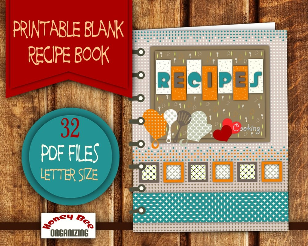 √ Free Recipe Book Templates Printable - Free Recipe Book Templates Printable