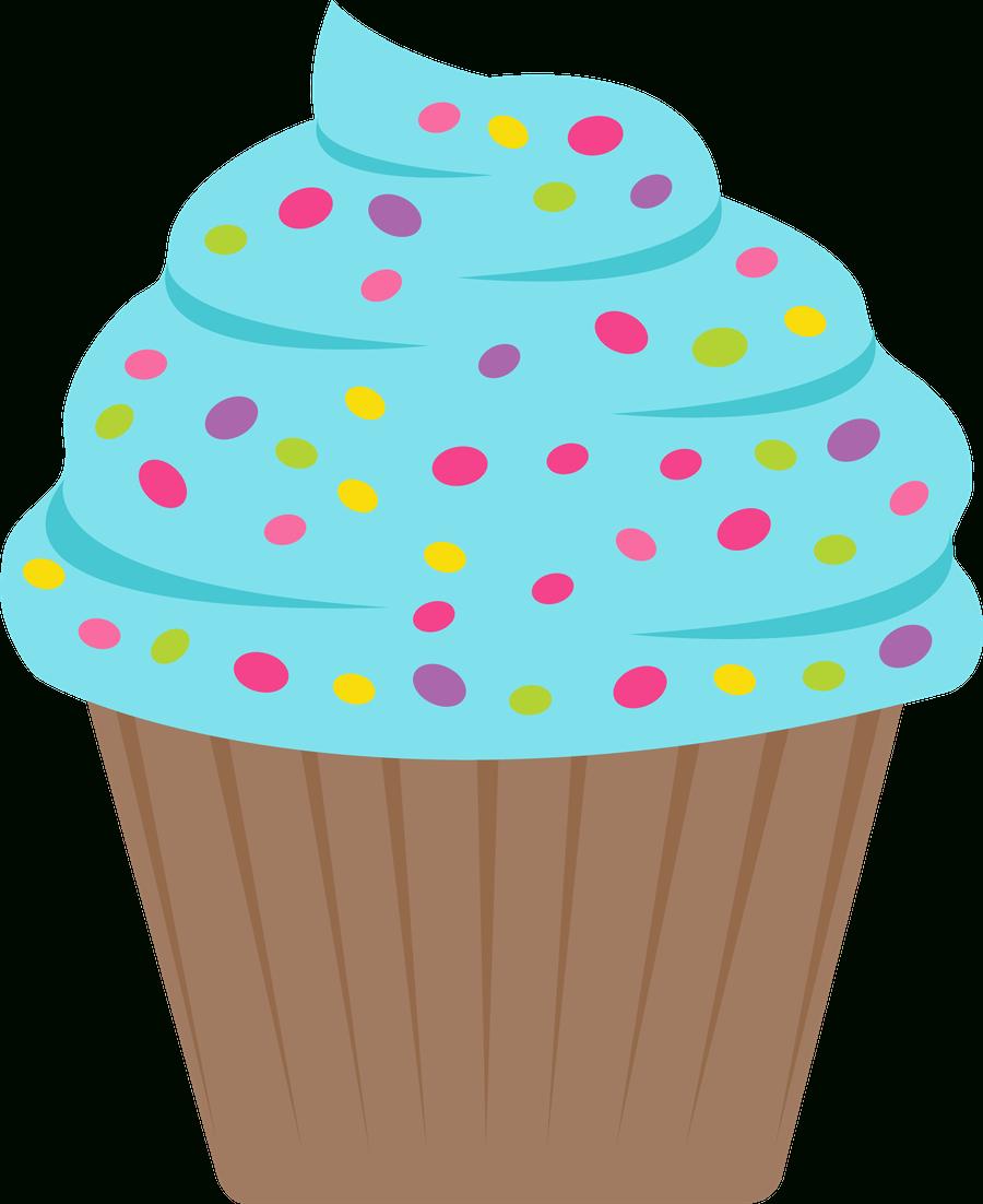 ○••°‿✿⁀Cupcakes‿✿⁀°••○   Cumple 30 Aniversario Cole - Free Printable Cupcake Clipart