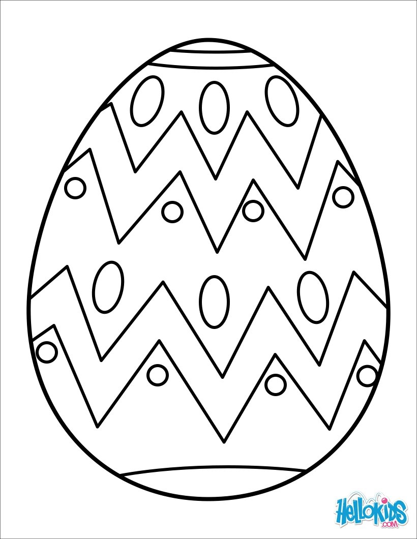Easter Egg Coloring Pages - 25 Online Kids Coloring Printables For - Free Printable Easter Basket Coloring Pages
