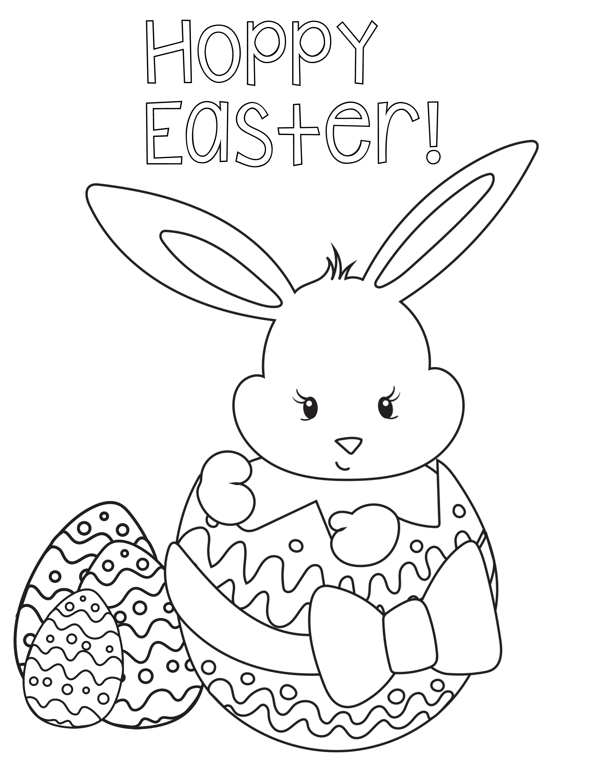 Easter Printable Coloring Pages Boys - 9.17.kaartenstemp.nl • - Free Printable Easter Coloring Pages