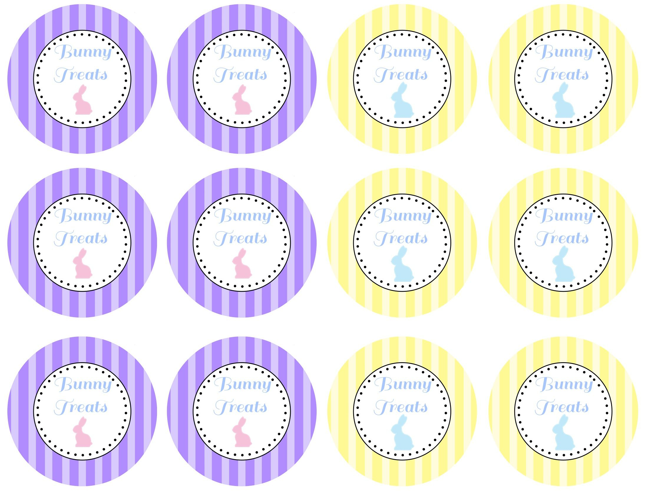 Easter Tags To Print | Click Here To Print The Purple And Yellow - Free Printable Easter Tags