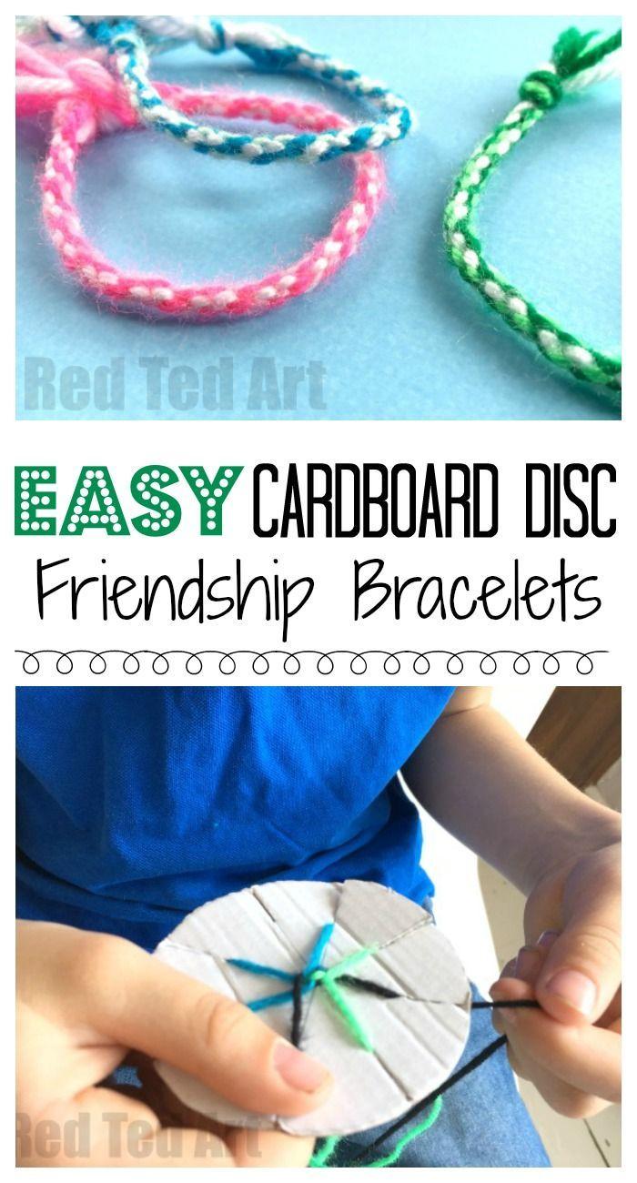Easy Friendship Bracelets With Cardboard Loom - Free Printable Friendship Bracelet Patterns