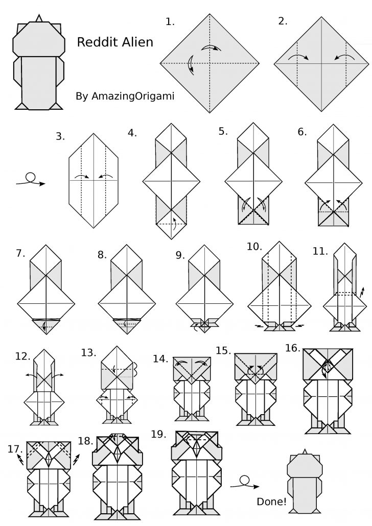 Free Easy Origami Instructions Printable