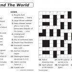 Easy Printable Crossword Puzzles | Elder Care & Dementia Care   Free Easy Printable Crossword Puzzles For Kids
