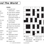 Easy Printable Crossword Puzzles | Elder Care & Dementia Care   Free Printable Crossword Puzzles For Kids