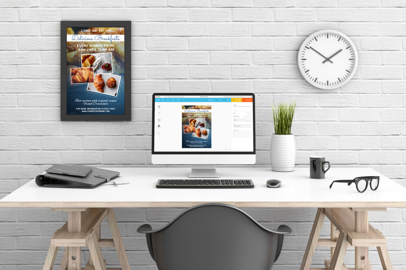 Easy Promotional Posters, Graphics & Videos | Postermywall - Free Printable Flyer Maker Online