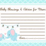 Editable Free Printable Baby Registry Cards To Baby Shower Welcome – Free Printable Baby Cards Templates